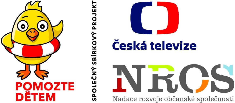 Společný sbírkový projekt Pomozte dětem a NROS ČT